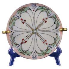 Hutschenreuther Favorite Bavaria Handled Serving Plate/Dish (c.1911-1930) - Keramic Studio Design