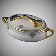 Rosenthal Selb Bavaria Donatello Floral Motif Covered Dish (c.1907-1940)