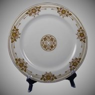 Haviland Limoges Acorn Motif Plate (c.1910-1930) - Keramic Studio Design