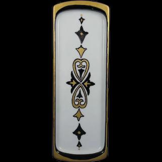 "Moritz Zdekauer (MZ) Austria Pin/Calling Card Tray (Signed ""P.E.W.""/Dated 1930)"