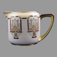 Rosenthal Donatello Bavaria Abstract Fruit Basket Design Creamer/Pitcher (c.1909-1930) - Keramic Studio Design