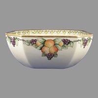 "B&Co. Limoges Fruit Design Bowl (Signed ""F.S. Goodwin""/c.1910-1930)"