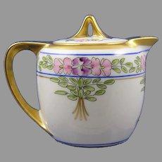 Pickard Studios Floral Design Syrup Pitcher (c.1912-1918)