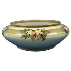 Porcelain Blank Floral Design Bowl/Planter (c.1906-1930) - Keramic Studio Design