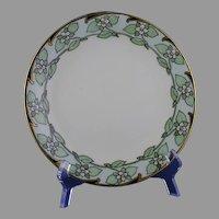 """D&Co. Limoges Floral """"Bunch Berry"""" Design Plate (c.1905-1920) - Keramic Studio Design"""