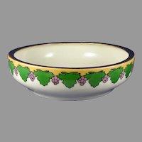 T&V Limoges Grape Design Bowl (c.1905-1930) - Keramic Studio Design