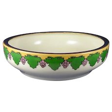 T&V Limoges Grape Design Bowl (c.1905-1930) - Keramic Studio Design