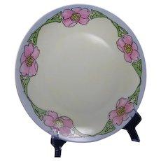 Thomas Bavaria Wild Rose Design Plate (c.1910-1930)