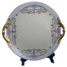 Jaeger & Co. Bavaria Morning Glory Design Serving Plate (c.1910-1930)