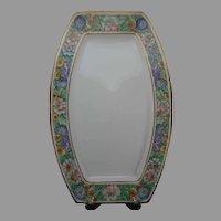 """Rosenthal Selb Bavaria Floral Design Platter/Plate/Tray (Signed """"L.L. Koogler""""/c.1907-1940)"""