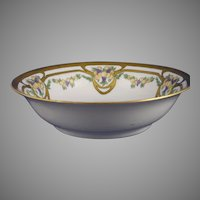 Moschendorf Porcelain Factory Bavaria Fruit Motif Bowl (Signed/Dated 1930) - Keramic Studio Design