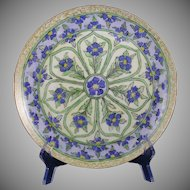 Haviland Limoges Floral Motif Plate (c.1904-1931) - Keramic Studio Design