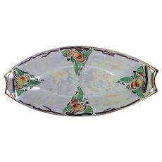 Hutschenreuther Selb Bavaria Fruit Motif Serving Dish/Tray (Signed/Dated 1915) - Keramic Studio Design