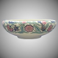 Willets Belleek Enameled Floral Motif Bowl (c.1879-1912)