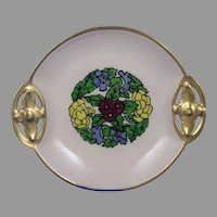 RS Tillowitz Silesia Floral Design Plate (c.1904-1938)