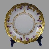 "Pickard Studios ""Enamel Grapes & Leaves"" Design Bowl (c.1905-1910)"