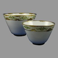 Hutschenreuther Favorite Bavaria Floral Design Bowl Set (c.1910-1930)