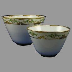 Hutschenreuther Favorite Bavaria Floral Design Bowl Set (c.1910-1930)