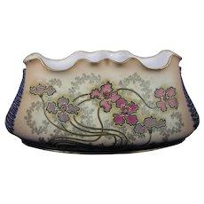 Ernst Wahliss Amphora Austria Floral Design Jardinière/Vase (c.1900-1915)