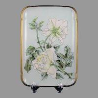 CFH/GDM Limoges Roses Design Tray (c.1882-1890)