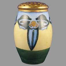 ZS&Co. Bavaria Abstract Floral Design Muffiner/Sugar Shaker (c.1910-1930)