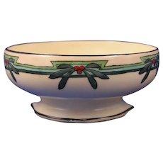 """T&V Limoges Floral Design Bowl (Signed """"L.W.A.""""/c.1910-1930) - Keramic Studio Design"""