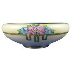 Hutschenreuther Favorite Bavaria Floral Design Bowl (c.1910-1930) - Keramic Studio Design