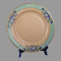 Haviland Limoges Enameled Floral Design Plate (c.1909-1930) - Keramic Studio Design