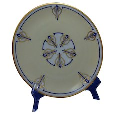 """Hutschenreuther Selb Bavaria Plate (Signed """"M.G.F.""""/Dated 1933)"""