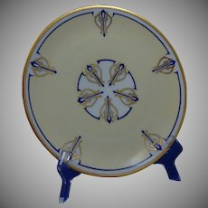 Hutschenreuther Selb Bavaria Plate (Signed/Dated 1933)