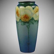 Rosenthal Bavaria Yellow Rose Design Vase (c.1907-1940)