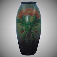 LARGE Lenox Belleek (American) Poppy Design Vase (c.1906-1924)