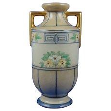 Austria Arts & Crafts Floral & Greek Key Design Vase (c.1900-1918)
