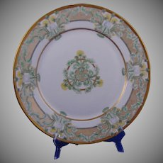 Hutschenreuther Bavaria Dandelion Motif Plate/Charger (Signed/c.1887-1930) - Keramic Studio Design (1st Prize)