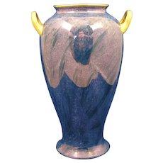Pickard Studio Mottled Blue Design Vase (c.1918-1919)