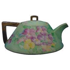 American Satsuma Floral Design Teapot (c.1900-1920)