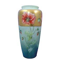 Lenox Belleek (American) Poppy Design Vase (c.1906-1924)