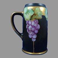 Moritz Zdekauer (MZ) Austria Grape Design Tankard/Mug (c.1910-1930)