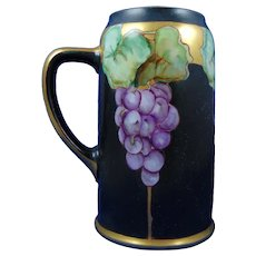 Moritz Zdekauer (MZ) Austria Grape Design Tankard/Mug (c.1910-1930)