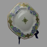 Pickard Studios Chinese Peonies Design Charger/Plate (c.1905-1910)