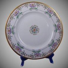 Hutschenreuther Favorite Bavaria Floral Motif Plate (c.1912-1930) - Keramic Studio Design