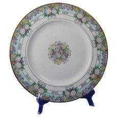 Hutschenreuther Favorite Bavaria Floral Motif Plate (c.1909-1930) - Keramic Studio Design