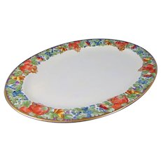 Hutschenreuther Selb Bavaria Fruit Motif Tray/Platter (c.1920-1940)