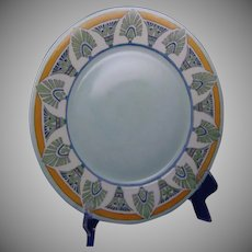 Hutschenreuther Selb Bavaria Egyptian Motif Charger/Plate (Signed/c.1912-1930) - Keramic Studio Design