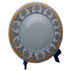 "Hutschenreuther Selb Bavaria Egyptian Motif Charger/Plate (Signed ""Buchanan""/c.1912-1930) - Keramic Studio Design"