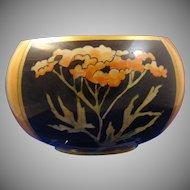 "Willetts Belleek (American) Lustre Bowl (Signed ""L.M.A.""/c.1880-1904)"