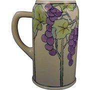 Ceramic Art Company (CAC) Belleek Arts & Crafts Grape Motif Tankard (c.1903-1910) - Keramic Studio Design