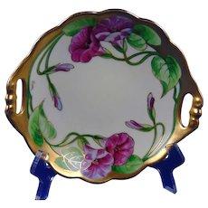 "Edward W. Donath Studio Morning Glory/Floral Design Bowl (Signed ""Koenig"" for Carl Koenig /c.19010-1915)"