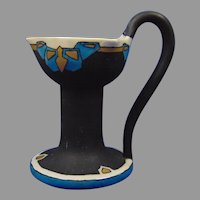 PH Leonard Austria Arts & Crafts Candleholder (Signed/Dated 1917)