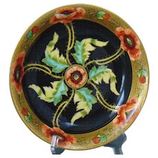 Pitkin & Brooks Studio Tressemann & Vogt (T&V) Limoges Poppy Design Bowl (c.1903-1910)